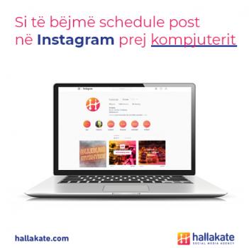 hallakate - instagram, schedule posts, pc