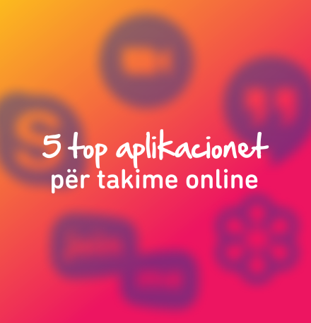 5 aplikacionet per takime online